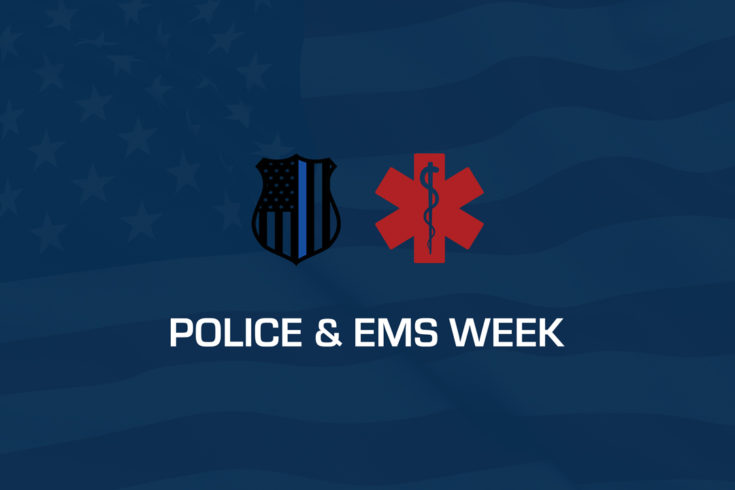 Police and EMS Week 2018